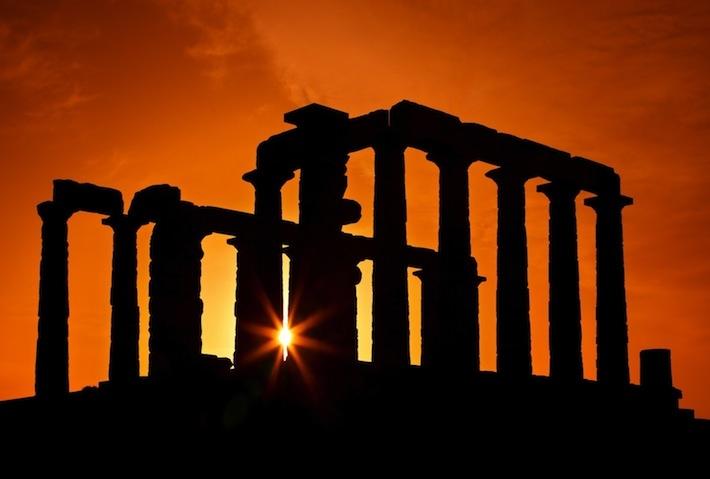 Poszeidón templom, Szunion-fok, Görögország