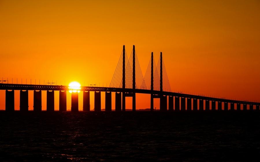 Oresund híd, Dánia/Svédország