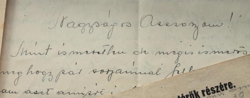 Egy hazatérő bajtárs levele