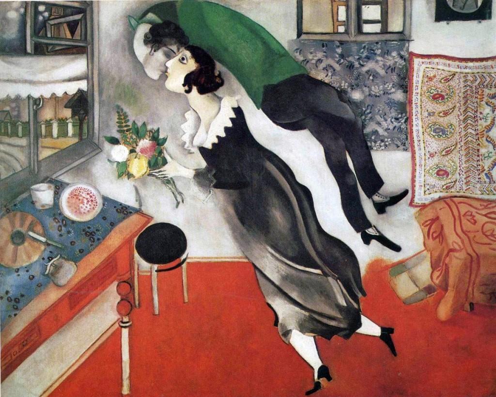 Marc Chagall: A születésnap (1915)