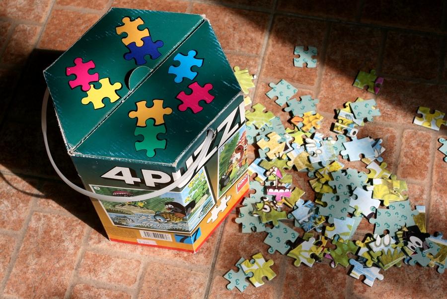 Kisvakond puzzle (Fotó: Zsubori Ervin)