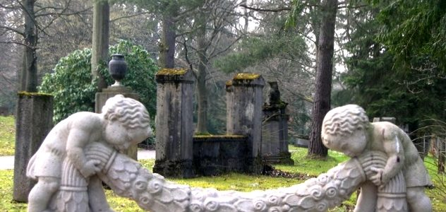 Stuttgarti temető (Fotó: Lakner Zsuzsa)