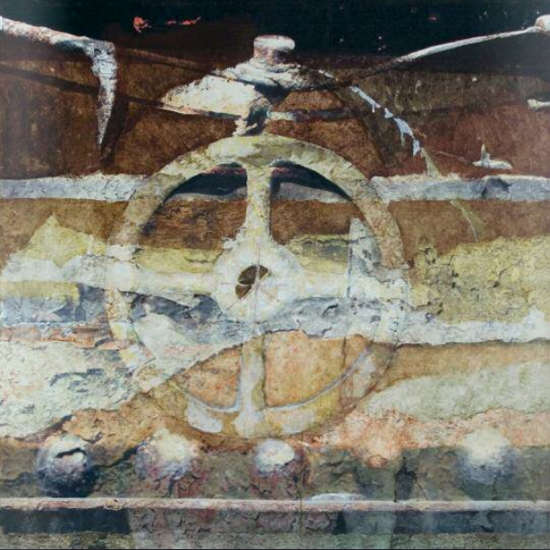 Németh Géza: Asóka kereke, 2009 (A valóság másik arca című kiállítás anyagából)
