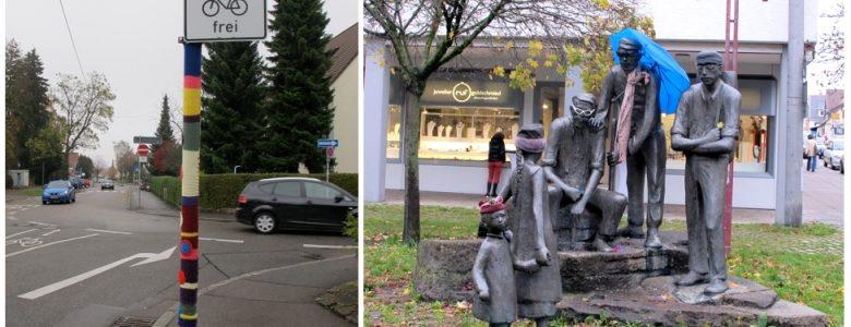 Stuttgarti installációk, 2014. november (Fotók: Lakner Zsuzsa)