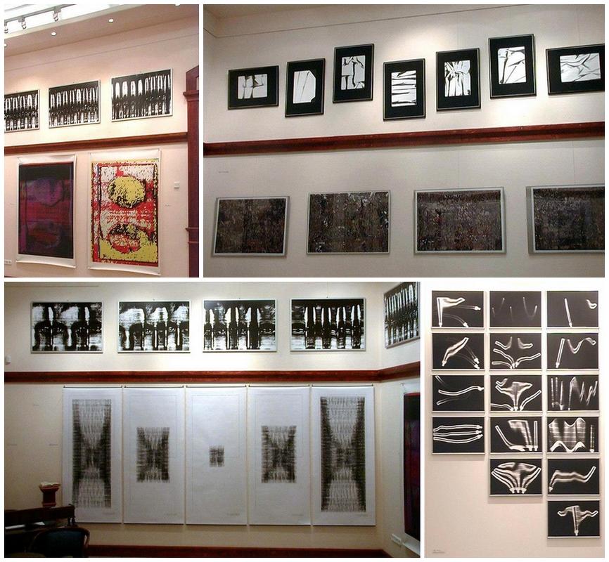 Árnyekkötődések - Sziget Galéria, 2001 (részletek a kiállításról)