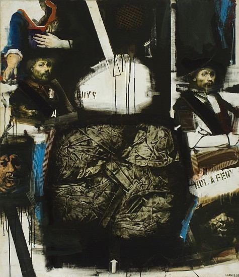 Lakner László: Rembrandt-tanulmány (1966)