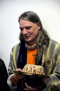 Vass Tibor, kuglóffal (Fotó: Bibók Bea)