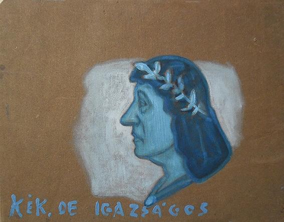 Gerber Pál: Kék, de igazságos, 2014.