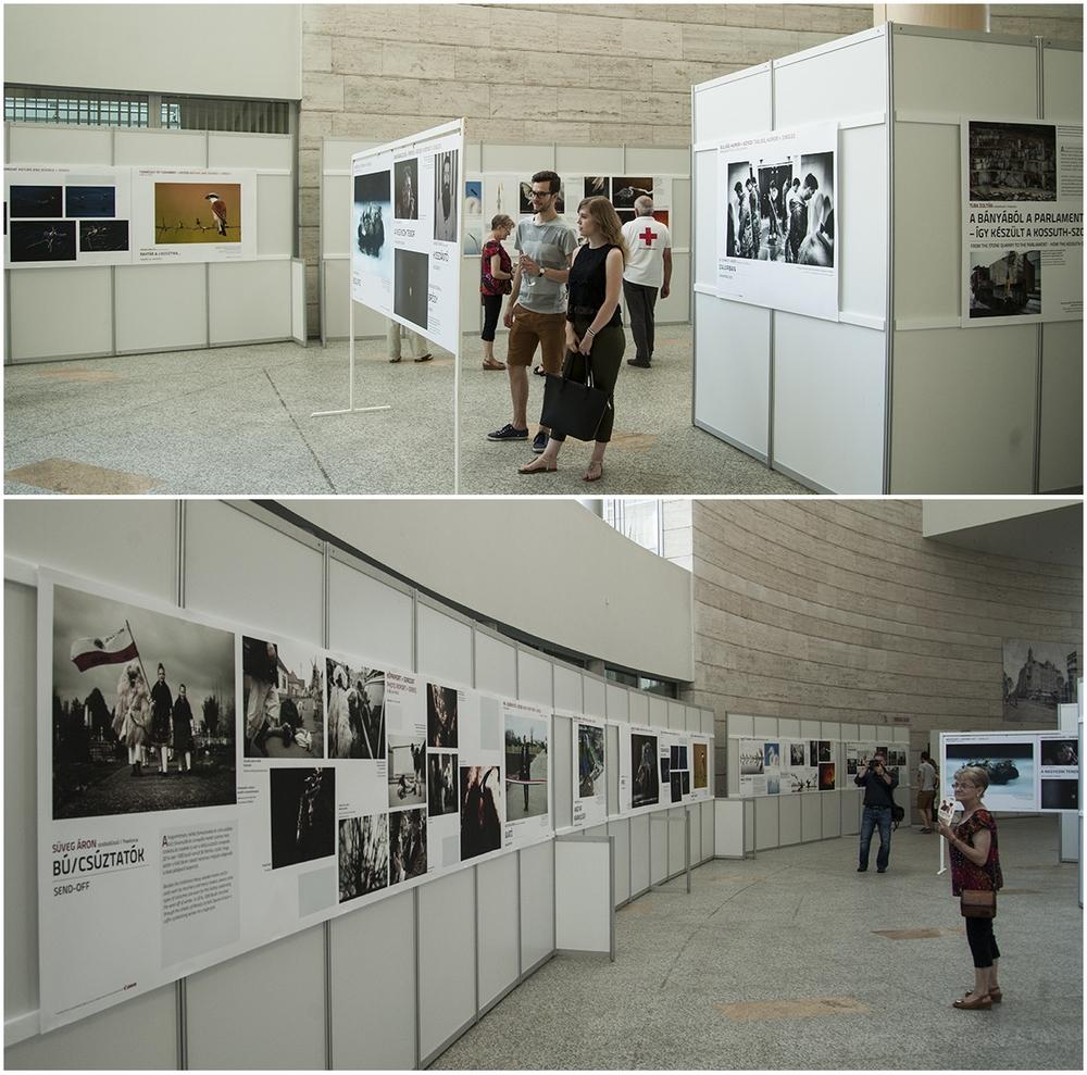 A debreceni kiállítás részlete (Fotók: Szigeti Tamás)