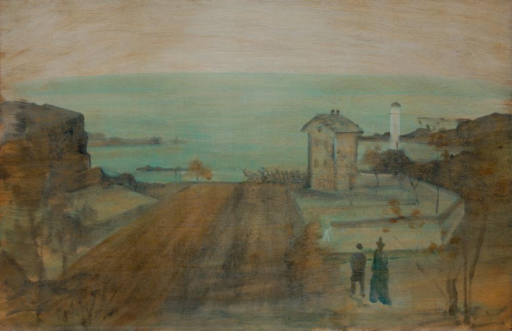 Farkas István: Francia tengerparti táj, 1937.