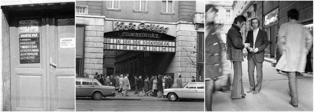 Budapest, 1977 (Fotók: FORTEPAN / Urbán Tamás [2, 3])