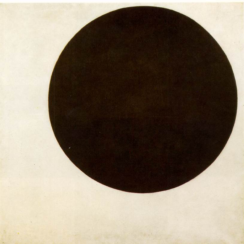 Malevics: Fekete kör (1915)