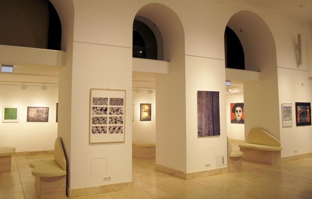 Áramkör-4 - a kiállítás részlete (Fotó: Csízy László)