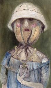 Anna Margit: A dögcédula, 1981 (Forrás: hung-art.hu)
