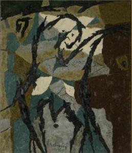 Ladányi Imre: Tauromancy,1960