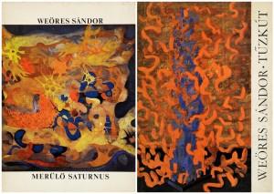 Két Weöres-kötet, Illés Árpád tervezte borítóval