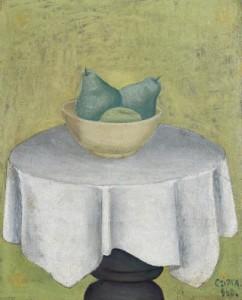 Czimra Gyula: Csendélet, 1960-as évek (Forrás: Deák Gyűjtemény)