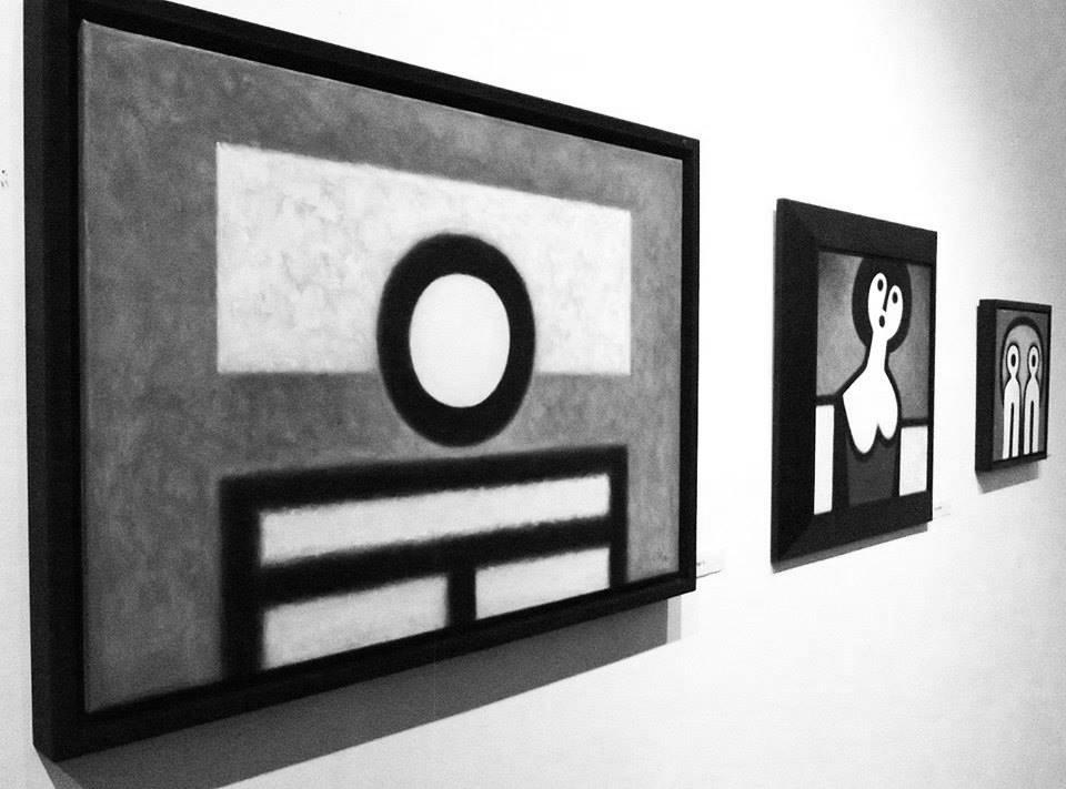 Eőry Emil kiállításának részlete (Forrás: Look Gallery)