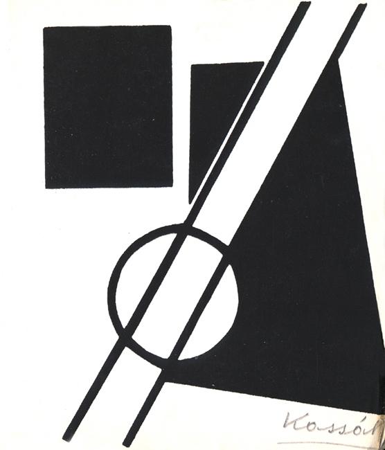 Kassák Lajos munkája az Emlékkönyvben