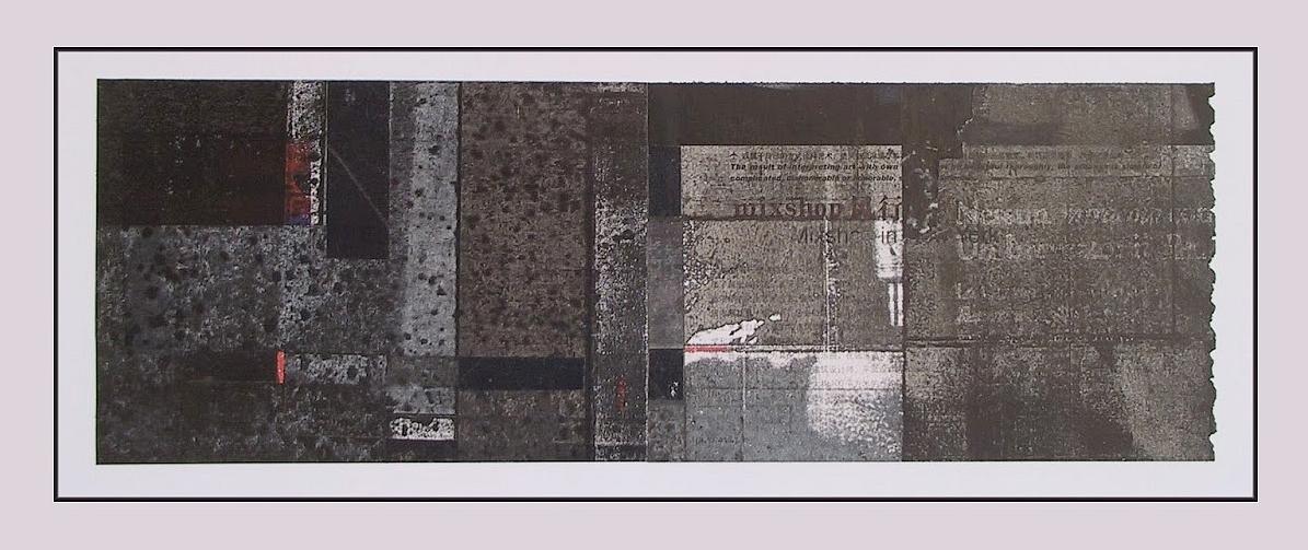 Alföldi László: Pompeji vázlatok III. (Labirintus), 2014