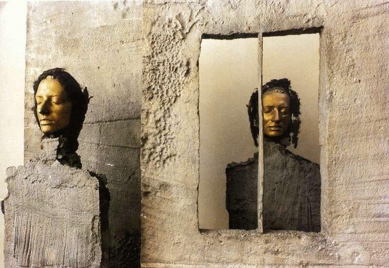 Schaár Erzsébet: Lány ajtóban, 1969