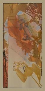 T. Horváth Éva: Triptichon II. (A tigris), 2005