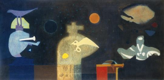 Bálint Endre: Allegro Barbaro, 1972 (Forrás: Virág Judit Galéria)