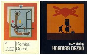 Körner Éva és Hegyi Lóránd Korniss-kötetei
