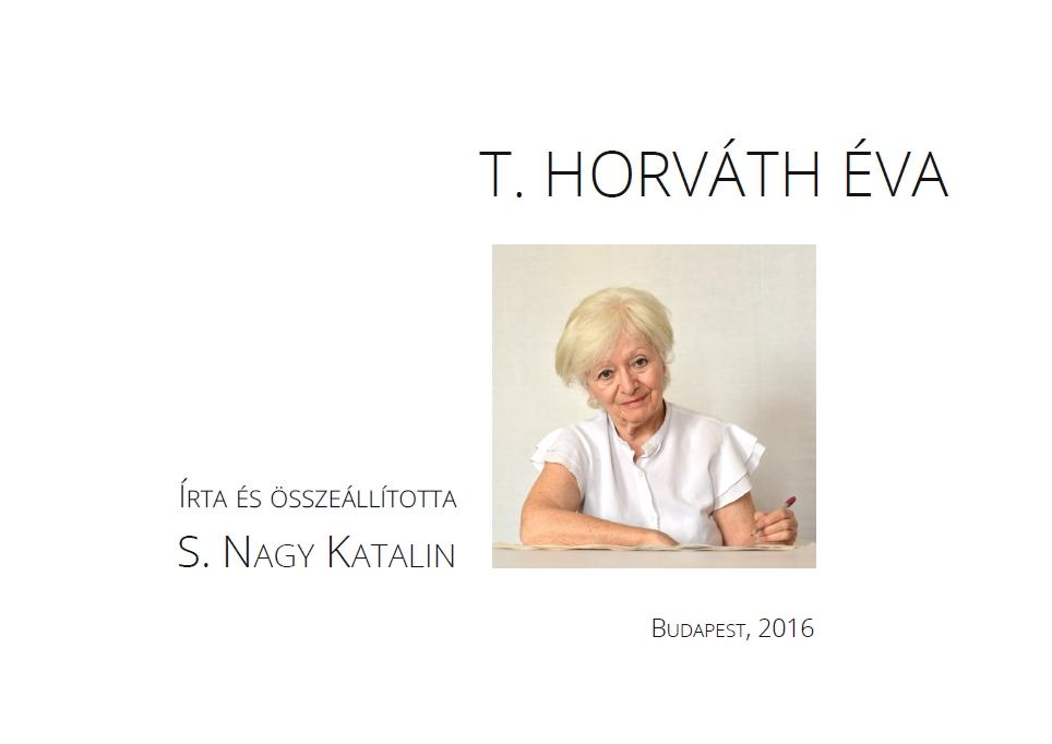 S. Nagy Katalin: T. Horváth Éva (belső címlap)