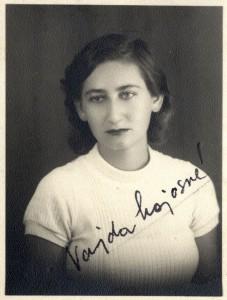 Vajda Júlia 1940-ben (Forrás: Beszélő Online)