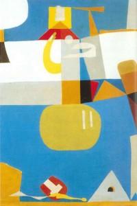 Vajda Júlia: Szentendre, 1946 (Forrás: Artmagazin Online)
