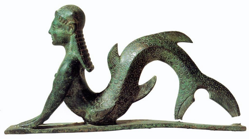 Tengeri teremtmény - Perugia, Kr. e. VII. század
