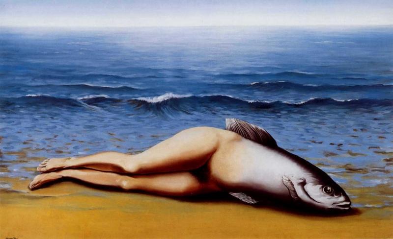 René Magritte: Fordított sellő (1934)