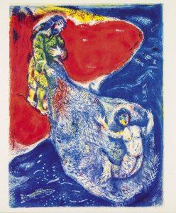 Marc Chagall illusztrációja, 1948