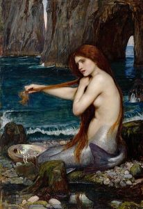 John William Waterhouse: Sellő, 1901
