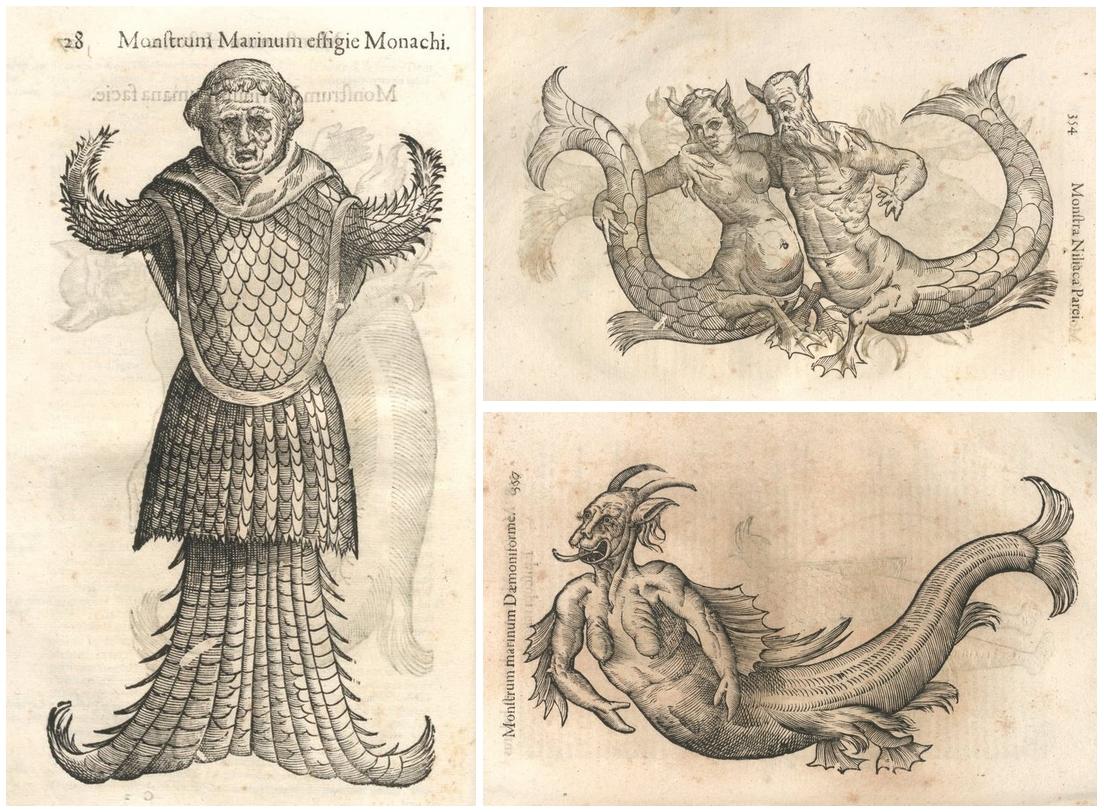 Tengeri szerzetes és más szörnyek a Monstrorum Historiában