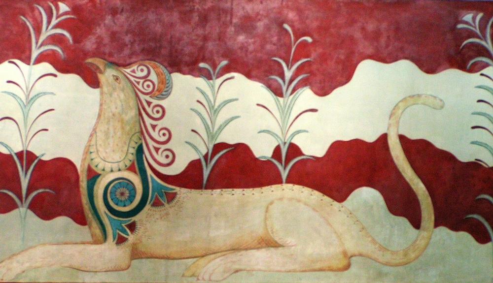 Griff-freskó Knósszoszban