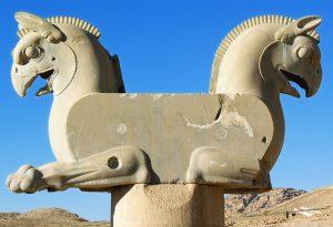 Harcias lény Perszepoliszban