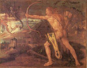 Albrecht Dürer: Héraklész és a sztümphaloszi madarak