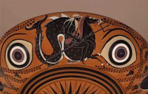 Poszeidón hippokamposzon lovagol