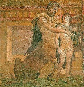 """""""A legnemesebb kentaur, Kheiron"""" és Akhilleusz"""