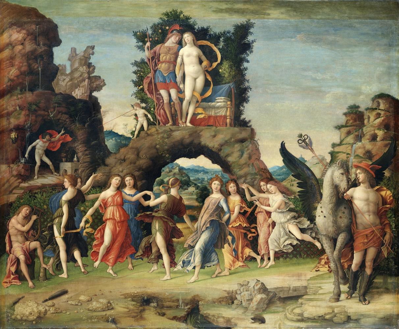 Mantegna: Parnasszus, 1497