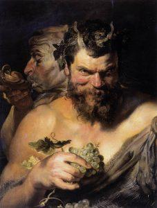 Rubens: Két szatír, 1619