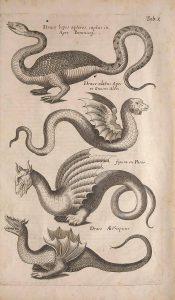 Középkori sárkányábrázolások