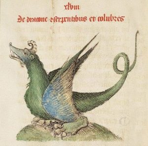 XV. századi sárkányábrázolás