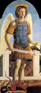 Piero della Francesca: Szent Mihály