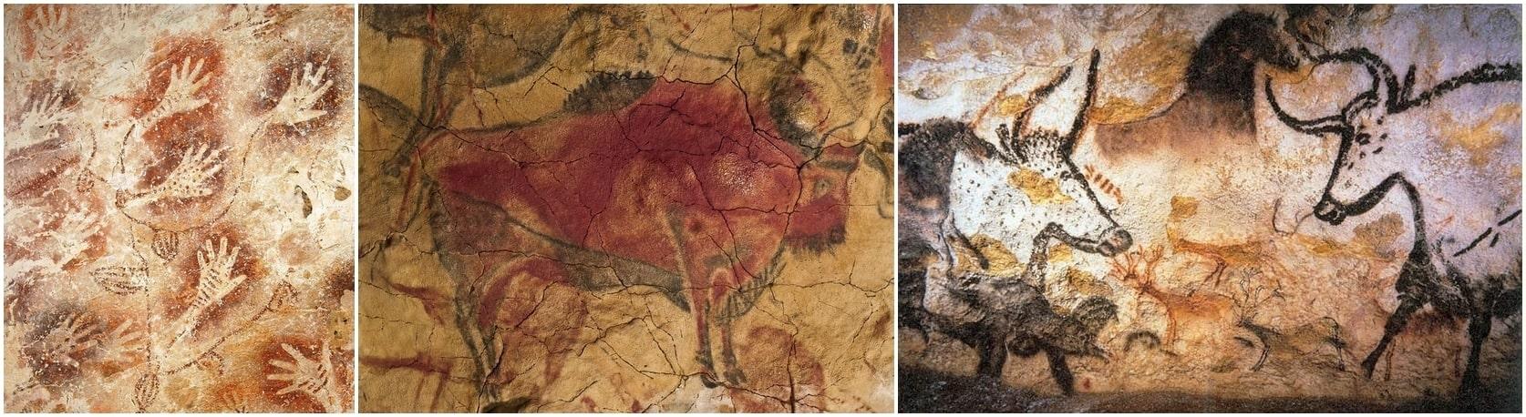Borneó, Altamira, Lascaux - barlangrajzok 40, 30 és 20 ezer évvel ezelőttről