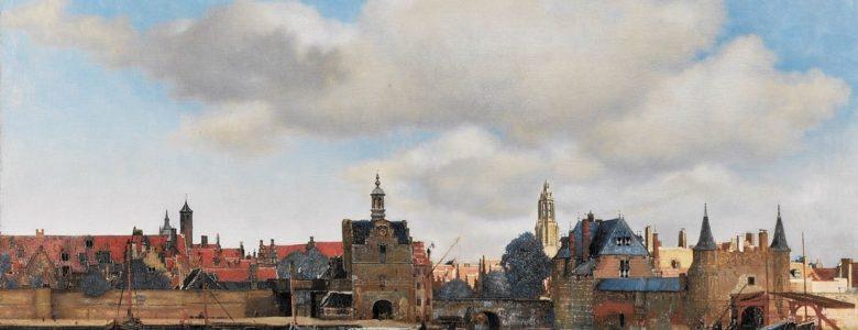 Johannes Vermeer: Delft látképe, 1659-60