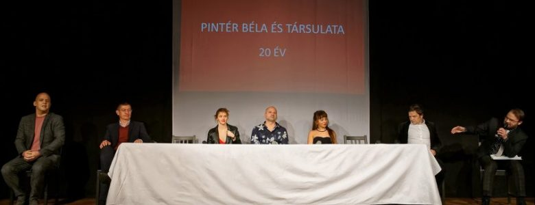 Jubileumi beszélgetések - jelenet az előadásból (Fotó: Mészáros Csaba)
