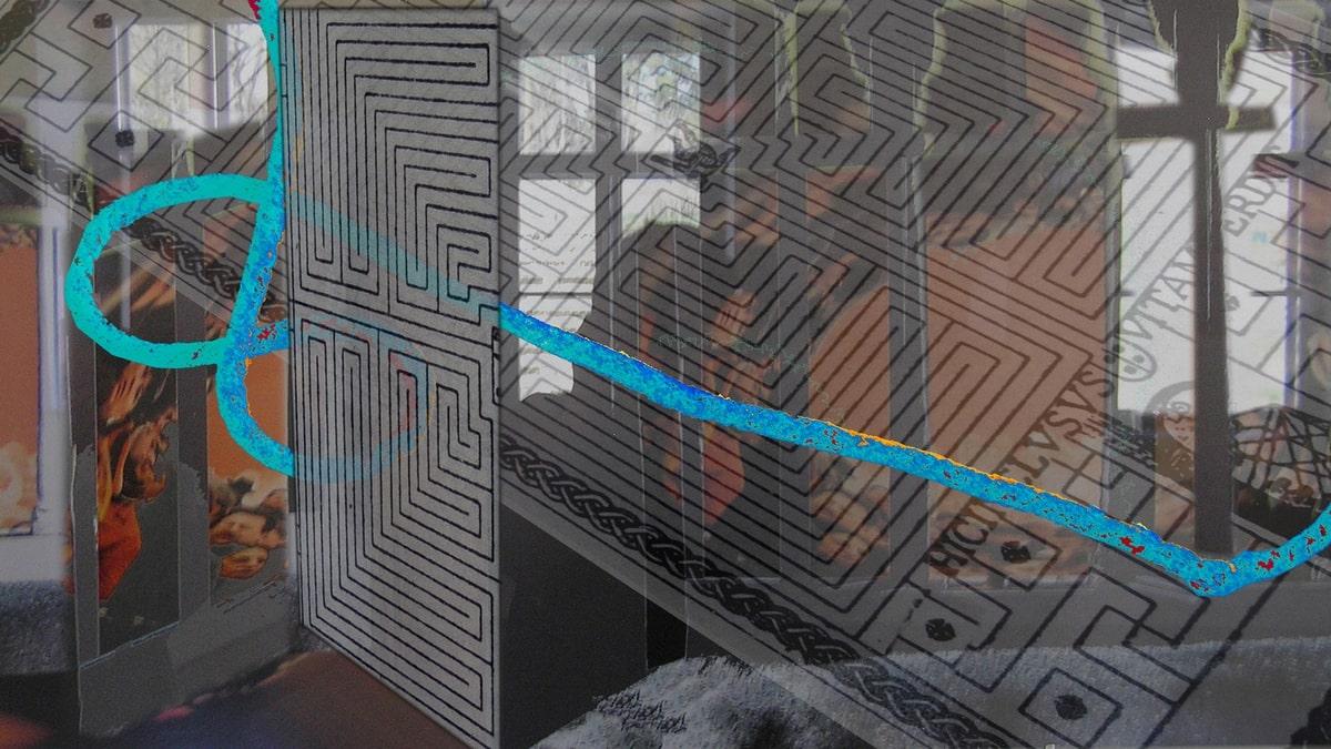Szöllőssy Enikő: Labirintus (ferde)